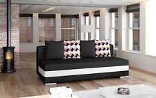 Multifunktion Couch Schlafsofa Büro  XXL Textil Big Sofa Couchen 3Sitzer Polster