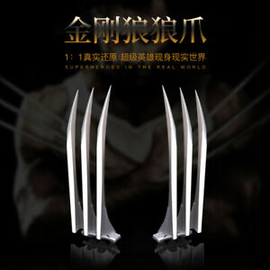 Wolverine Logan Blade Claws Paw X-Men Cosplay costume prop Weapon toy 2 pcs
