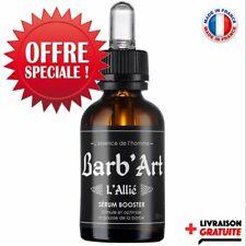 Huile à barbe BIO ● Sérum 5 huiles végétales BIO● Stimule la pousse● au RICIN
