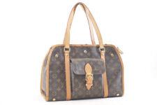 LOUIS VUITTON Monogram Dog Carrier Sac Bag Star M42027 Auth sa685