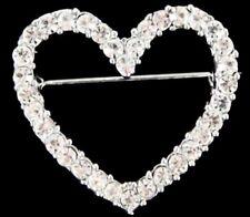Venetti Diamante Heart Brooch . Jewellery Lovely Gift For Valentine