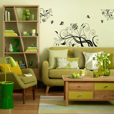 Butterflies Removable Wall Decal,Wall stickers Large Size 170 cm*90 cm