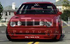 VW Golf Mk2 eyebrows headlight spoiler lightbrows eye lids brows covers Badlook
