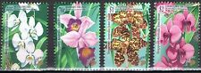 Joint Issue 1998 Singapore 902-905 orchideeën orchids cat waarde € 7,50