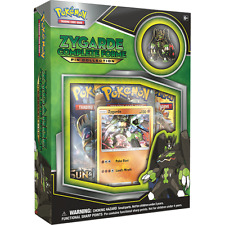 Zygarde Complete Forme Form Pin Collection Pokemon Sun & Moon with Boosters