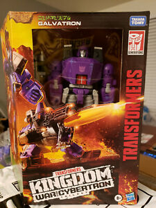 Transformers Kingdom GALVATRON War for Cybertron Deluxe Movie G1 -Ready 2 Ship!