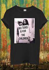John Lennon Wu Tang Is For Children Cool Retro Men Women Top Unisex T Shirt 78