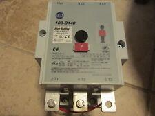 ALLEN BRADLEY 100S-D140D22C SER. A SAFETY CONTACTOR 110/120V *USED*