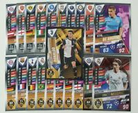 2020 UEFA Champions League Soccer Cards Match Attax 101 - Lot of 20 cards