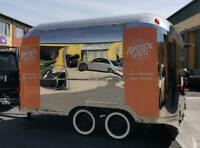 Airstream Mobile Catering Style Trailer Suitable Food Truck, Coffee Gin Prosecco