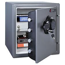 Sentry Electronic Fire Safe 1.23 ft3 16 3/8w x 19 3/8d x 17 7/8h Gunmetal Gray