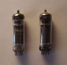NOS Philips Miniwatt EL84 (6BQ5) Vacuum Tubes Matched Pair