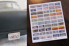 US Nummernschilder Kennzeichen Nummernschild Tuning 1/18 Bastler
