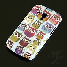 Samsung Galaxy S Duos s7562 HARD CASE GUSCIO PROTETTIVO ASTUCCIO motivo piccolo gufo owl