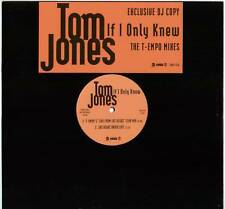 "TOM JONES ~ IF I ONLY KNEW (T-EMPO MIXES) ~ 1994 UK 4-TRACK ""PROMO"" 12"" SINGLE"