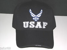 CAP, USAF  ENLISTED, 1 SIZE FITS ALL...100% ACRYLIC, DARK BLUE FREE SHIPPING,