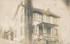 Goodyear PA * RPPC of Home & Family ca. 1908  *Normal Beam * Cumberland Co.