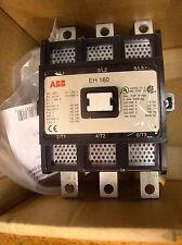 ABB EH160C-F 3-POLE CONTACTOR 190 AMP 24V COIL NIB