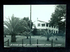 1930's? RPPC A Fine Home at Inverness FL