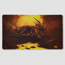 Dragon Shield Playmat with Coin