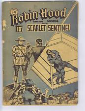 Robin Hood Comics V2 #2 Anglo American 1943 CANADIAN EDITION