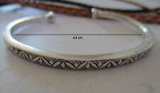 Sterling Silber Armreif Armband Armspange Tuareg Stempel Marokko klassisch