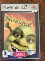 Shrek 2 ~ DreamWorks Sony PlayStation 2 PS2 Game Based on the Film
