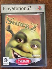 SHREK 2 ~ Dreamworks Sony Playstation 2 PS2 jeu basé sur le film