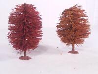 2 HO Scale Life Like Trains Trees