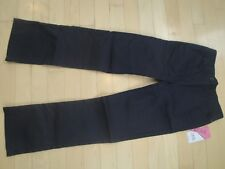 Izod Approved Schoolwear Knit Waist, Skinny Navy Pull On Bootcut Stretch Pants