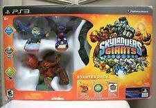 NEW PS3 SKYLANDERS GIANTS STARTER PACK PORTAL GAME FIGURES PLAYSTATION 3