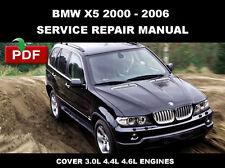 BMW X5 (E53) 2000 2001 2002 2003 2004 2005 2006 SERVICE REPAIR WORKSHOP MANUAL