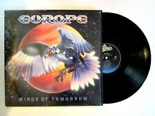 EUROPE WINGS OF TOMORROW LP ORIG. 1984 U.S. PRESS JOHN NORUM JOEY TEMPEST