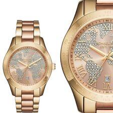 ✅ Original MICHAEL KORS Luxus Uhr Layton MK6476, Farbe: Rosègold & Gold. NEU+OVP