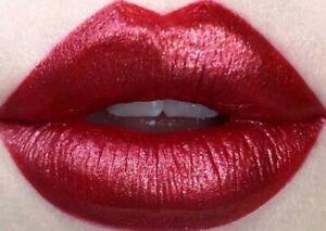 Kat Von D Kvd Everlasting Glimmer Veil Liquid Lipstick Red Dazzle Full Size New