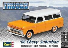 Revell Monogram 4409 1966 Chevrolet Suburban plastic model kit 1/25