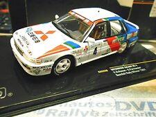 MITSUBISHI Galant VR-4 4x4 EVO Rallye Sweden Winner Eriksson 1991 #4 IXO 1:43