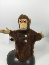 Vintage, Steiff, Jocko The Chimpanzee, Hand Puppet, Made n Germany,1950's-60's