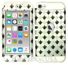 For Apple iPod Touch iTouch 5 | 6 - KoolKase Hybrid Cover Case - Saints Silver