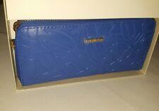 Womens Bebe Boxed Blue Wallet