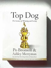 TOP DOG: SCIENCE OF WINNING & LOSING 8-DISC CD AUDIOBOOK BY PO BRONSON & ASHLEY