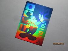 "1991 DISNEY COLLECTOR CARDS SERIES 1 - HOLOGRAM CARD - ( H2 )  "" WORLD TOUR """