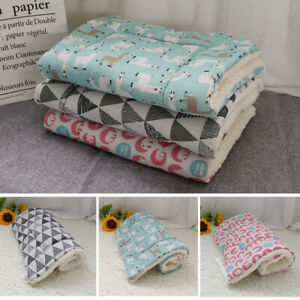 Pet Bed for Dog Cat Crate Mat Soft Warm Pad Liner Home indoor Outdoor Washable