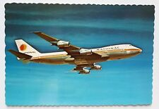 National Airlines Boeing 747 Postcard