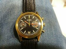 VINTAGE ATLANTIC CHRONOGRAPH!  VALJOUX 7734! Great condition! Running smoothly!