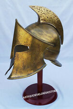 300 Spartan King Leonidas Movie Medieval Helmet With Free Stand