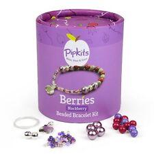Pipkits Jewellery Making Bead Bracelet Kit - Blackberry (E68)
