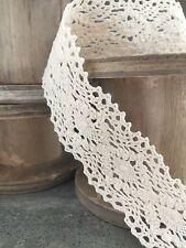 NASTRO in pizzo shabby chic vintage Craft Bouquet Wrap per matrimonio biglietto rendendo regalo 1 M.