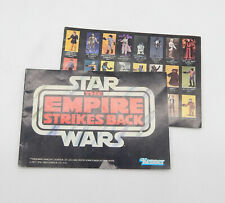 Kenner STAR WARS ESB Vintage Mini Katalog Prospekt Booklet Heft Flyer #P24