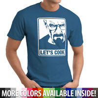 Breaking Bad Angry Walter White Let's Cook Funny Cool Badass Unisex T-Shirt Tee